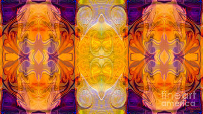 Digital Art - Prescious Resources Abstract Bliss Art By Omashte by Omaste Witkowski