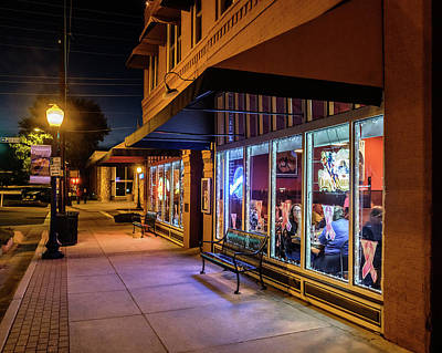 Photograph - Prescott Arizona Night by Glenn DiPaola
