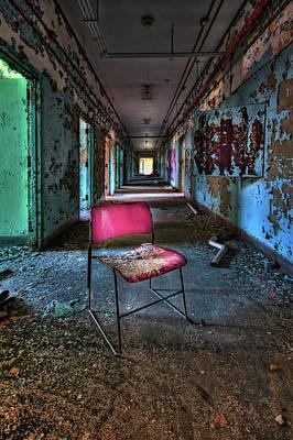 Abandoned Insane Asylum Photograph - Presence by Evelina Kremsdorf