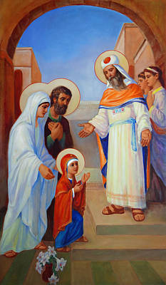 Painting - Presentation Of Mary In The Temple  by Svitozar Nenyuk