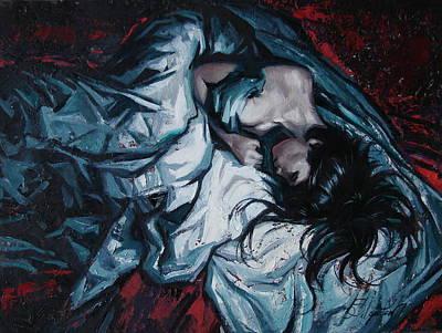Presentiment Of Insomnia Art Print by Sergey Ignatenko