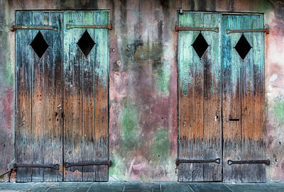Photograph - Preservation Hall Doors by Jerry Fornarotto