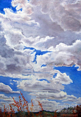 Painting - Preserve Sky by CJ  Rider