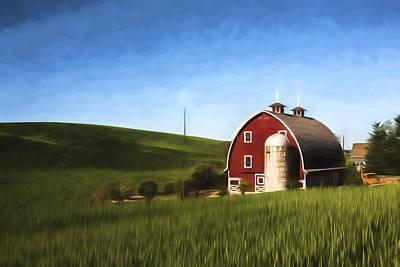 Farming Digital Art - Preserved II by Jon Glaser