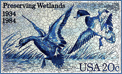 Approval Painting - Preserving Wetlands by Lanjee Chee