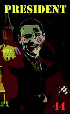 President 44 Art Print by Art Dreams