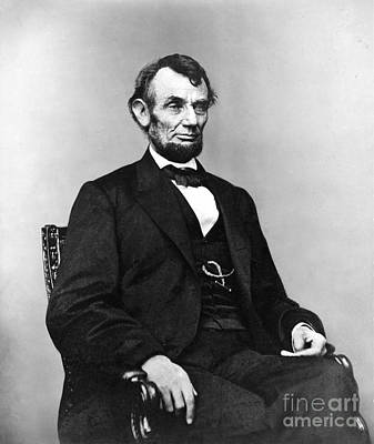 Politicians Royalty-Free and Rights-Managed Images - President Abraham Lincoln #2 by The Titanic Project