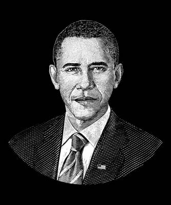 Digital Art - President Barack Obama Graphic by War Is Hell Store