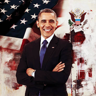 President Barak Obama  Original by Gull G