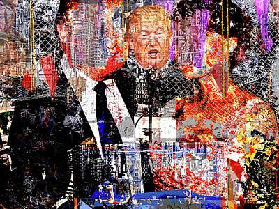 Inauguration Digital Art - President Chaos by Lee Balan