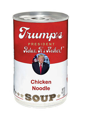Photograph - Trump In A Tin by Doc Braham