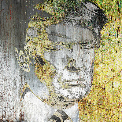 Mixed Media - President Donald Trump  by Tony Rubino