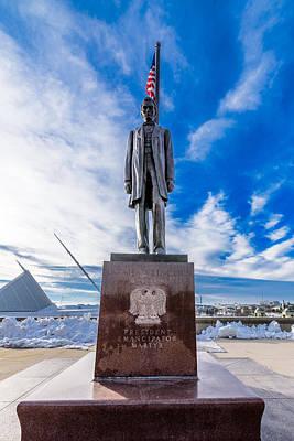 Photograph - President, Emancipator, Martyr by Randy Scherkenbach