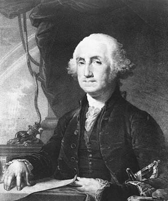 President George Washington Art Print