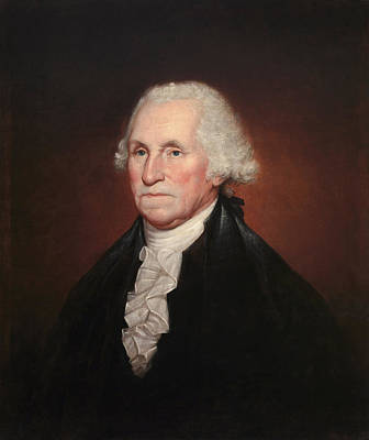 Painting - President George Washington - Rembrandt Peale by War Is Hell Store