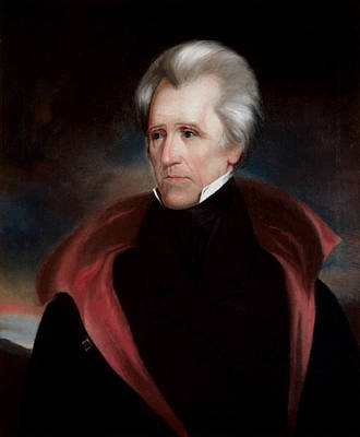 Painting - President Jackson by War Is Hell Store
