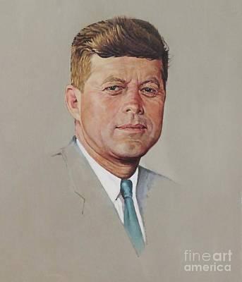 portrait of a President Art Print