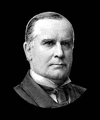 Digital Art - President Mckinley Graphic by War Is Hell Store