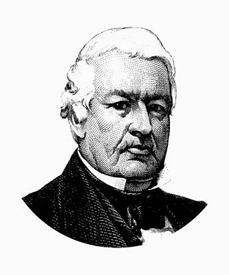 Digital Art - President Millard Fillmore Graphic by War Is Hell Store