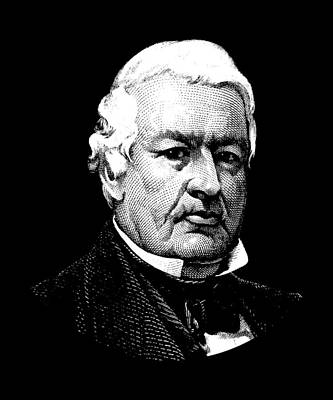 Digital Art - President Millard Fillmore by War Is Hell Store
