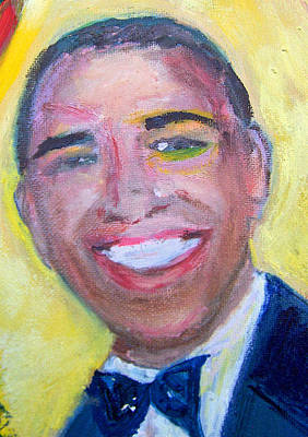 Barack Obama Painting - President Obama by Patricia Taylor