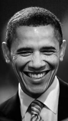 President Obama V Art Print by Rafa Rivas