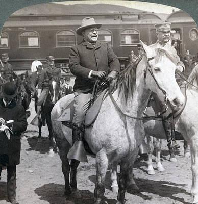 President Roosevelts Western Tour-- Print by Everett