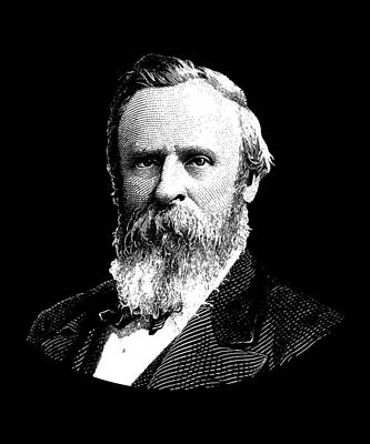 President Rutherford B. Hayes Graphic Art Print