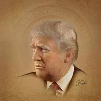 President Trump Original by Joel Payne