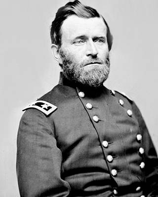 President Ulysses S Grant In Uniform Art Print