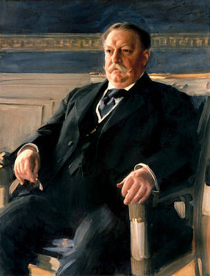 Fathers Day 1 - President William Howard Taft Painting - Anders Zorn by War Is Hell Store