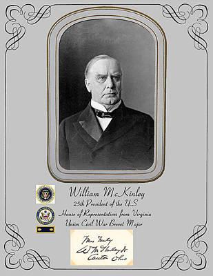 President William Mckinley Art Print