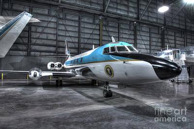 Presidential Aircraft - Lockheed Vc-140b Jetstar  Art Print