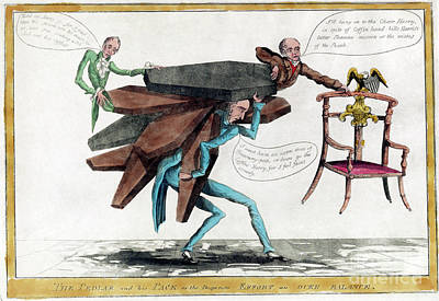 Drawing - Presidential Election, 1828.  by Granger
