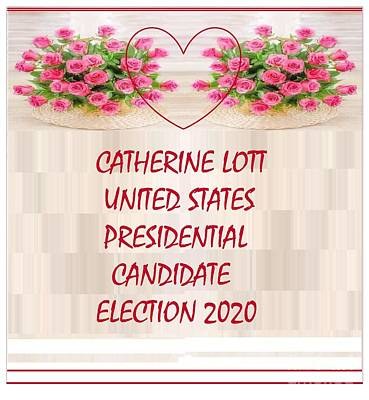 Painting - Presidential Election 2020 Candidate Catherine Lott  by Catherine Lott