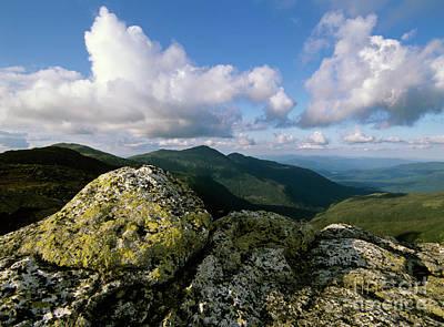 Presidential Range - White Mountains New Hampshire Art Print