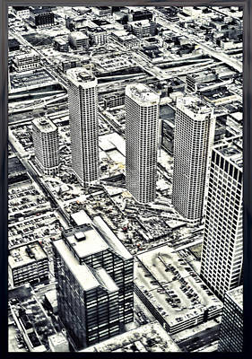 Photograph - Presidential Towers Chicago by Kellice Swaggerty