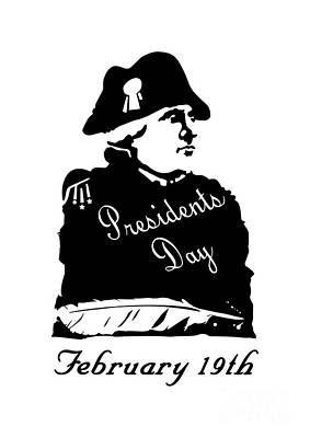 President's Day Original by Frederick Holiday