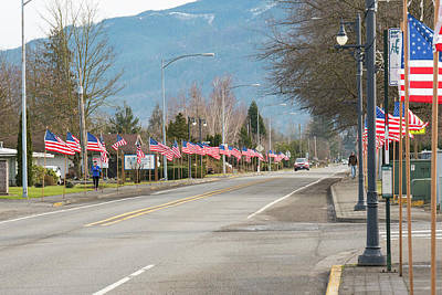 Photograph - Presidents' Day In Everson by Tom Cochran