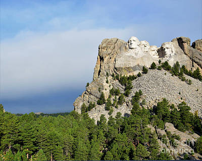 Photograph - Presidents Mountain by Kathy M Krause