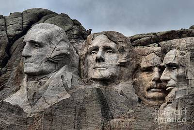 Photograph - Presidents Of Mt. Rushmore by Adam Jewell