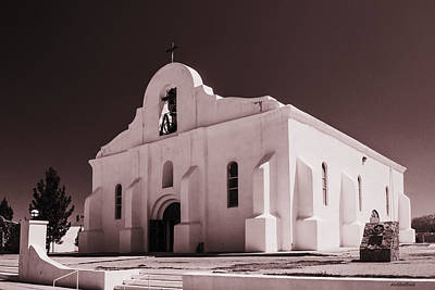 Photograph - Presidio Chapel San Elizario by Allen Sheffield