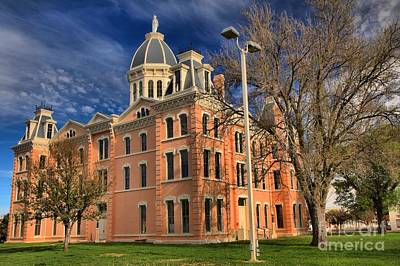 Photograph - Presidio County Courthouse by Adam Jewell