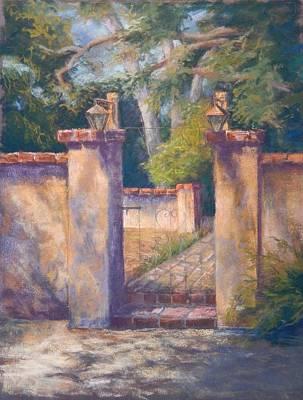 Pastel - Presidio Gate by Marlene Kingman