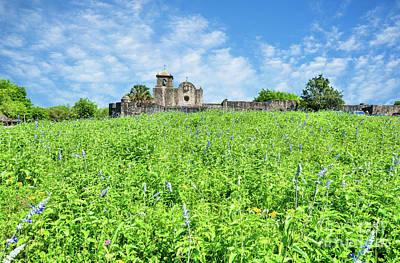 Landscape Photograph - Presidio La Bahia by Tod and Cynthia Grubbs