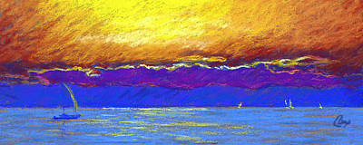 Presque Isle Bay Art Print by Michael Camp