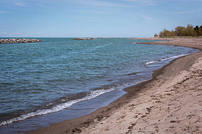 Photograph - Presque Isle Beach Lake Erie Pa by Terry DeLuco