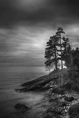 Photograph - Presque Isle by CA  Johnson