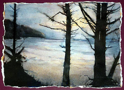 Painting - Presque Isle Dawn by Christie Martin
