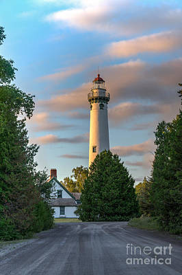 Photograph - Presque Isle Lighthouse by Patrick Shupert